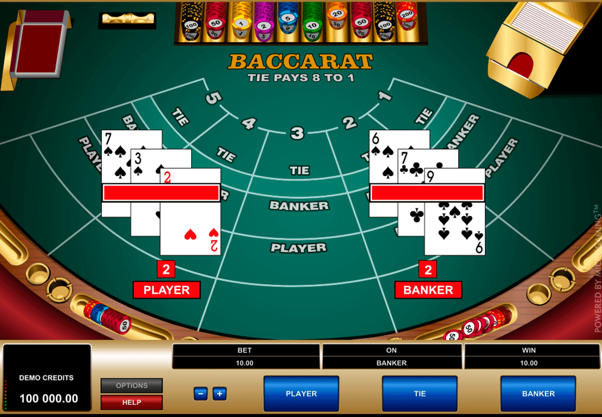 How to Play an Online Baccarat Card Game